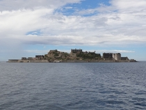 GUNKANJIMA ISLAND Once the most densely populated place in the world this island is now a ghost town x