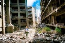 Gunkanjima The Lost Student of the Abandoned Island of Japan