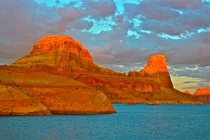 Gunsight Butte Lake Powell USA
