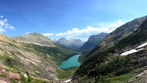 Gunsight Lake Glacier National Park