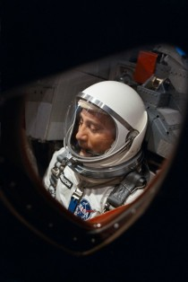 Gus Grissom awaits the launch of Gemini  on March   x