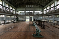 Gymnasium on a remote Japanese island The school closed due to population decline