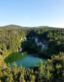 Gypsum Mine Lake Cape Breton Nova Scotia