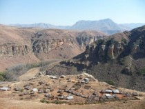 Ha Challa most beautiful village in Lesotho