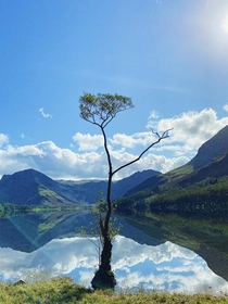 Had a week off from the NHS after  months to finally get to the Lake District  Lake District Buttermere  x