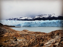 Had an amazing time hiking and experiencing Perito Moreno Glacier Argentina one of the few stable glaciers left on our planet  OC