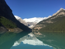 Had my kayak out for an hour before the rental shop opened Had the whole lake to myself  would paddle again Lake Louise AB