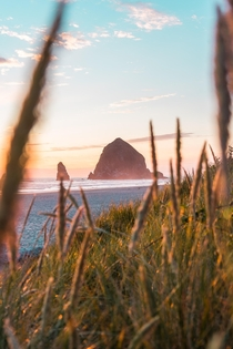 Had quite the drive to make it for sunset But was worth every minute Cannon Beach Oregon