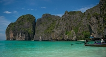 Had the pleasure of visiting Maya Bay Thailand on my honeymoon