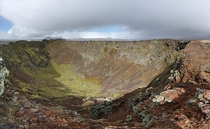 Had the trail to ourselves on our hike to the Fortress of Fire Elborg Crater Iceland