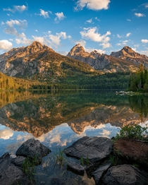 Had this beautiful place to myself for a few hours on this peaceful morning - Grand Teton National Park -  - IG travlonghorns