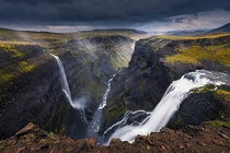 Haifoss Iceland  by Mohammed Alsultan x-post rIsland