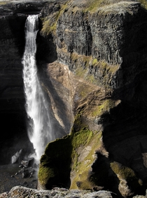 Haifoss in Iceland With some killer light