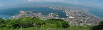 Hakodate Japan Took this panorama from Mount Hakodate