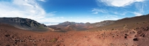 Haleakal panorama from summit head