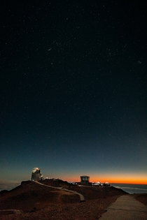 Haleakala Observatories in Maui Hawaii  x