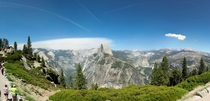 Half Dome amp Yosemite Valley Yosemite National Park California taken by me
