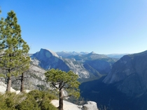 Half Dome and the Sierras from Yosemite Point