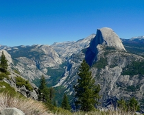 Half Dome and Yosemite Valley from Glacier Point