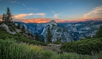Half Dome at sunset  by Linda Richardson