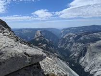 Half Dome from above