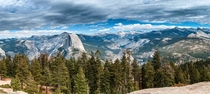 Half Dome from Sentinel Dome Yosemite NP