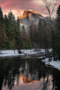 Half Dome Reflections - Yosemite National Park