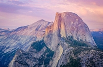 Half Dome Sunset