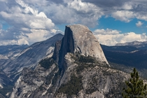 Half Dome taken from Glacier Point Yosemite National Park CA