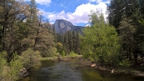 Half Dome Yosemite National Park taken earlier today from my phone