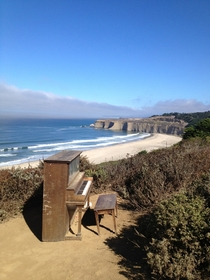 Half Moon Bay Sunset Piano