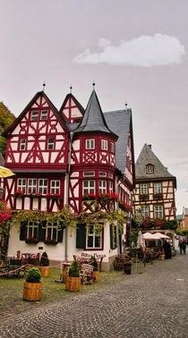 Half timbered houses in Bacharach