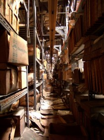 Hall of Records Abandoned Locomotive Repair Shop Massachusetts x