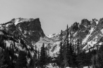 Hallet Peak in RMNP CO  OC