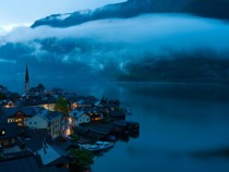 Hallstatt Austria at Dusk