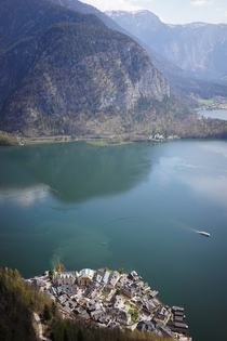 Hallstatt Austria from above
