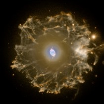 Halo of the Cats Eye Nebula