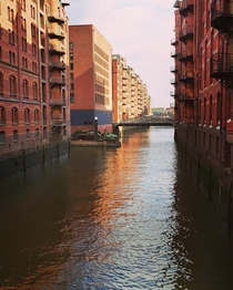 Hamburg Germany Speicherstadt basically old warehouses for all kind of commodities nearby the harbour