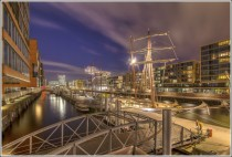 Hamburg-Hafencity at Night