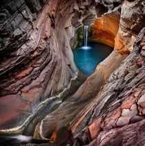 Hamersley Gorge Karijini National Park Australia  by Ignacio Palacios