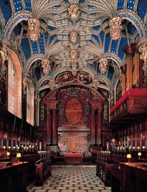 Hampton Court Palace Chapel UK