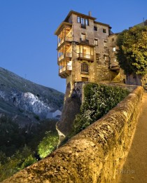 Hanging house in Cuenca Spain