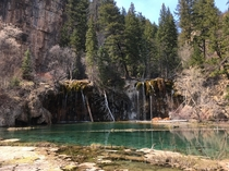 Hanging Lake CO my top   x