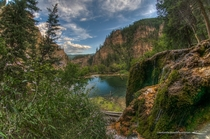 Hanging Lake Colorado By Brendan Caffrey