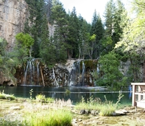 Hanging Lake in Colorado near Grand Junction