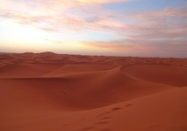 Hanging Out in the Sahara - Erg Chigaga Morocco