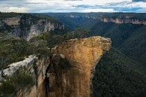 Hanging Rock Blue Mountains National Park NSW Australia