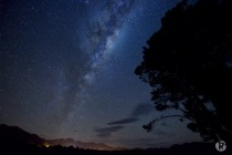 Hanmer Springs Night Sky New Zealand