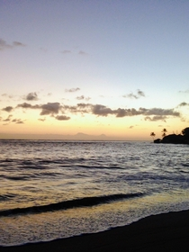 Happiness is a Hawaiian sunrise- simply a mind blowing view of Aukai Beach on Oahu