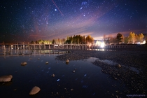 Happy Equinox - Have some brilliant night sky over the pier in Tahoe City CA shot three nights ago